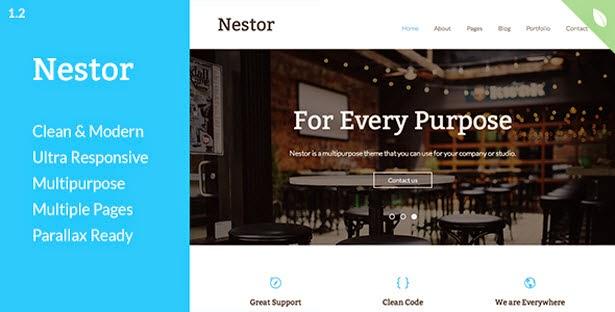 Nestor - Responsive Drupal Theme