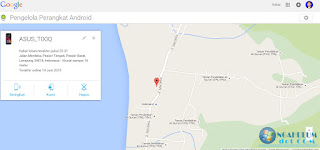 cara melacak lokasi hp android yang hilang