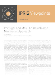 "Paulo Gorjo, ""Portugal and Mali: An Unwelcome Minimalist Approach"" (CLICAR na imagem)."