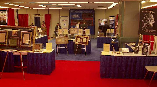 A Stan Klos Founding U.S. Presidential Exhibit   Republican National Convention  N.Y. Hilton 2004
