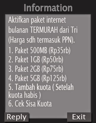 Cara Daftar Paket Internet Tri (3)
