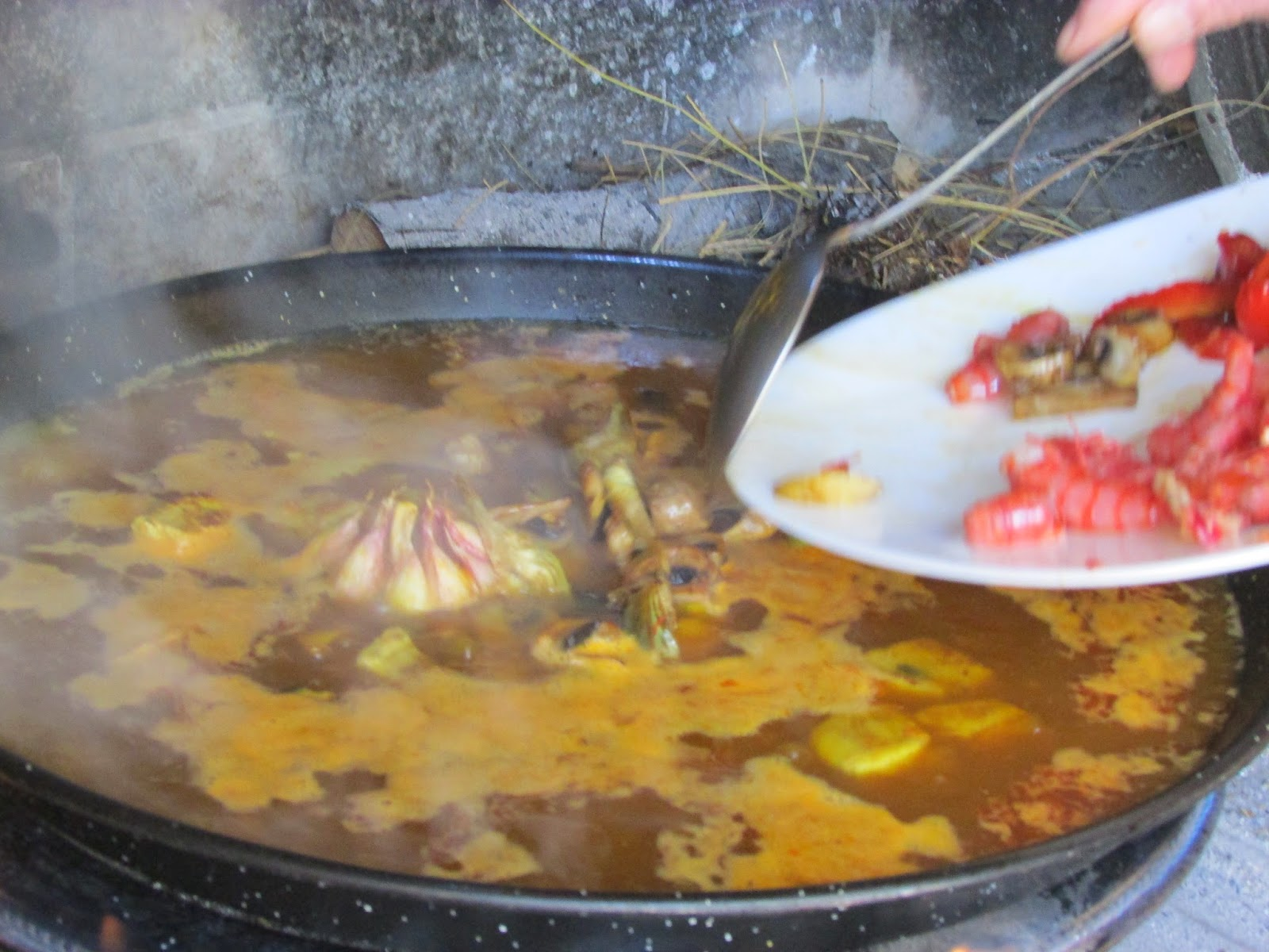 Paella de Atún y Verdura
