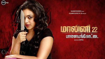 Malini 22 Palayamkottai (2015) Tamil Movie DVDRip 400MB Download