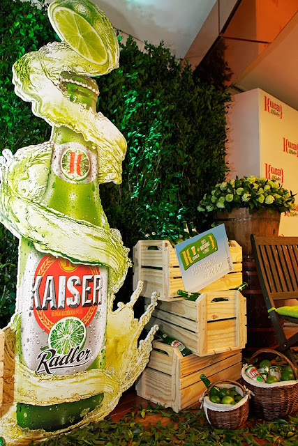 Radler Kaiser Limão cerveja