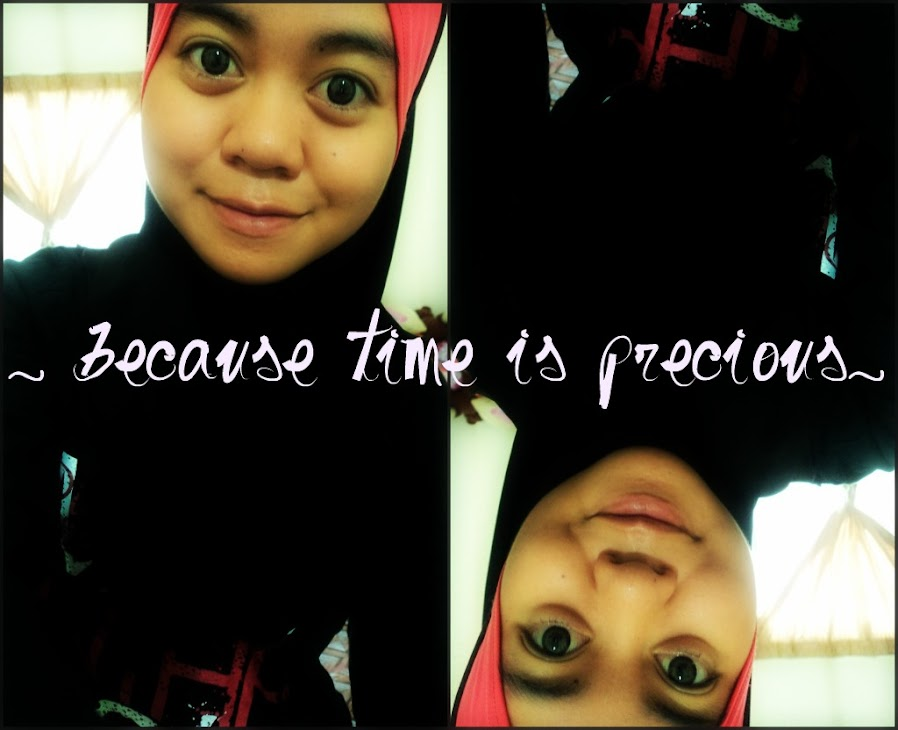 ♥ because time is precious♥