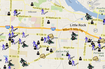 I Think We39re On A Roll Here In Little Rock  SpotCrime