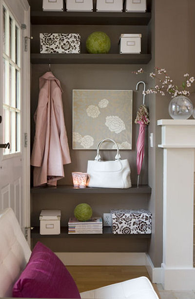 Foyer Nook Ideas : Goodbye house hello home how to create a foyer
