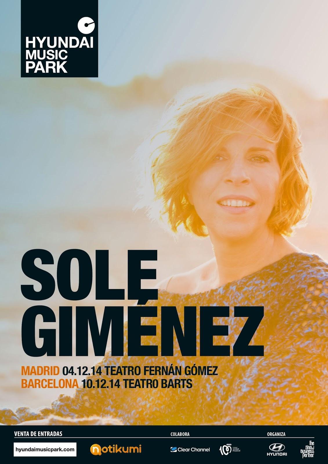 Sole Gimenez... COMO HEMOS CAMBIADO. Nuevo Álbum y conciertos