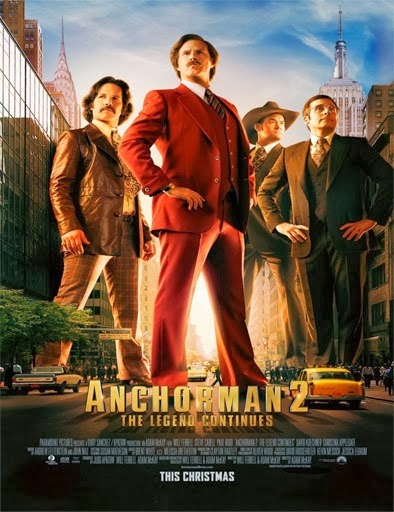 Ver Anchorman 2: The Legend Continues (2013) Online