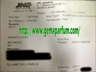 Pengiriman Parfum ke Bandar Lampung