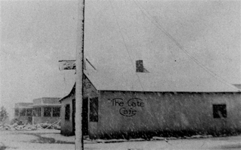 The Gate Cafe.