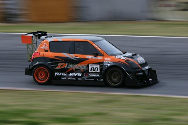 sportowe kompakty, Suzuki Swift, wyścigi