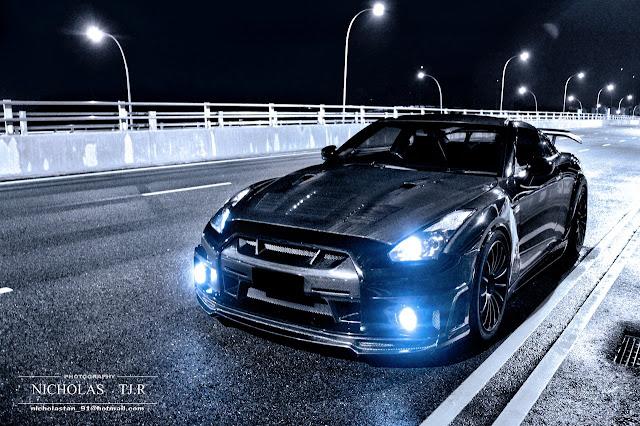 Nissan GT-R, godzilla, R35, japoński sportowy samochód