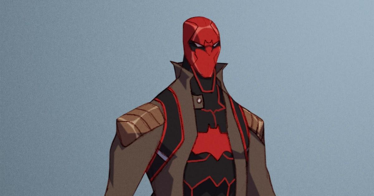 The Art Of Eric Guzman Red Hood Re Design