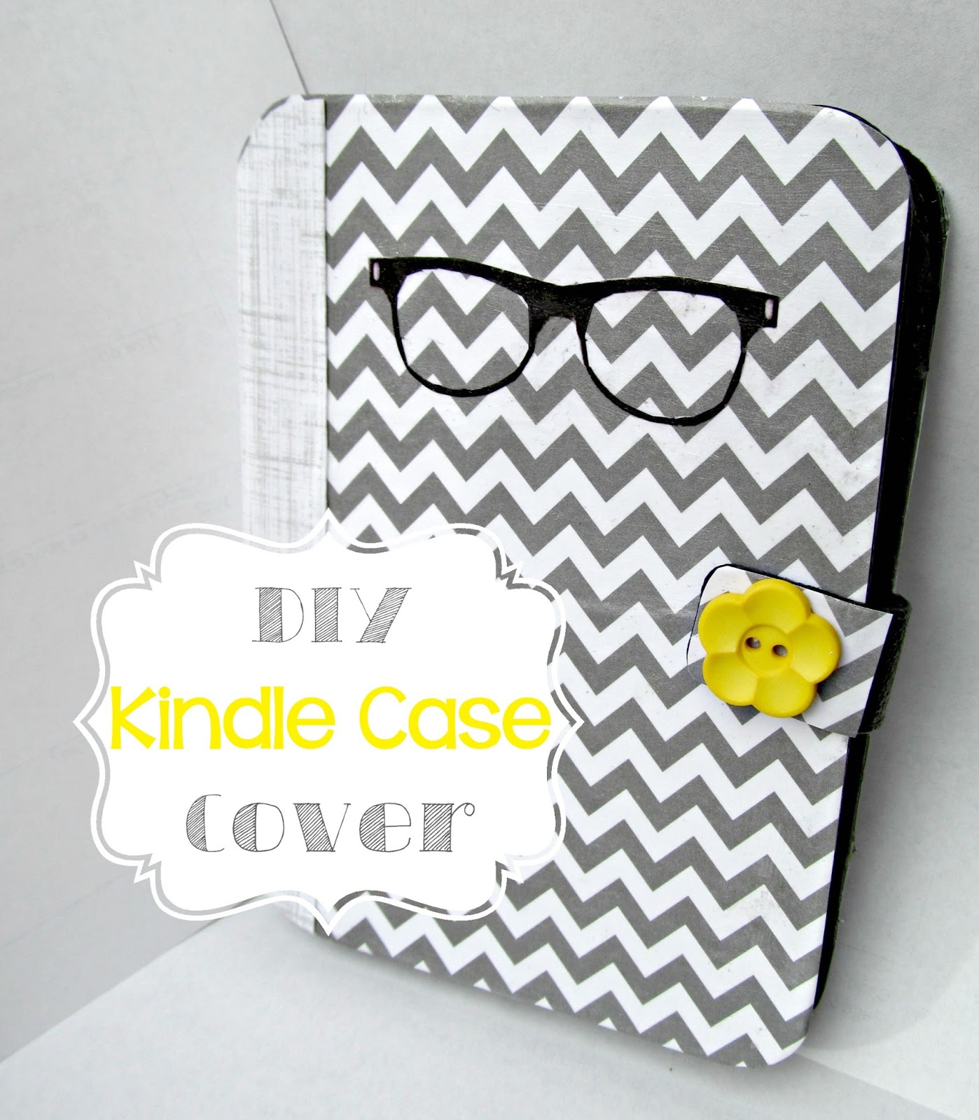 Diy Book Cover For Kindle : It s always ruetten diy kindle case cover