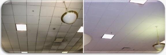 Limpieza de faclsos techos