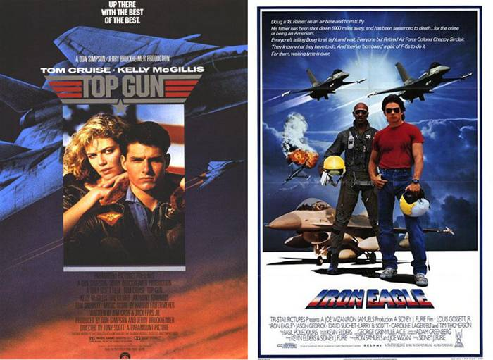 13. Top Gun | Iron Eagle – 1986