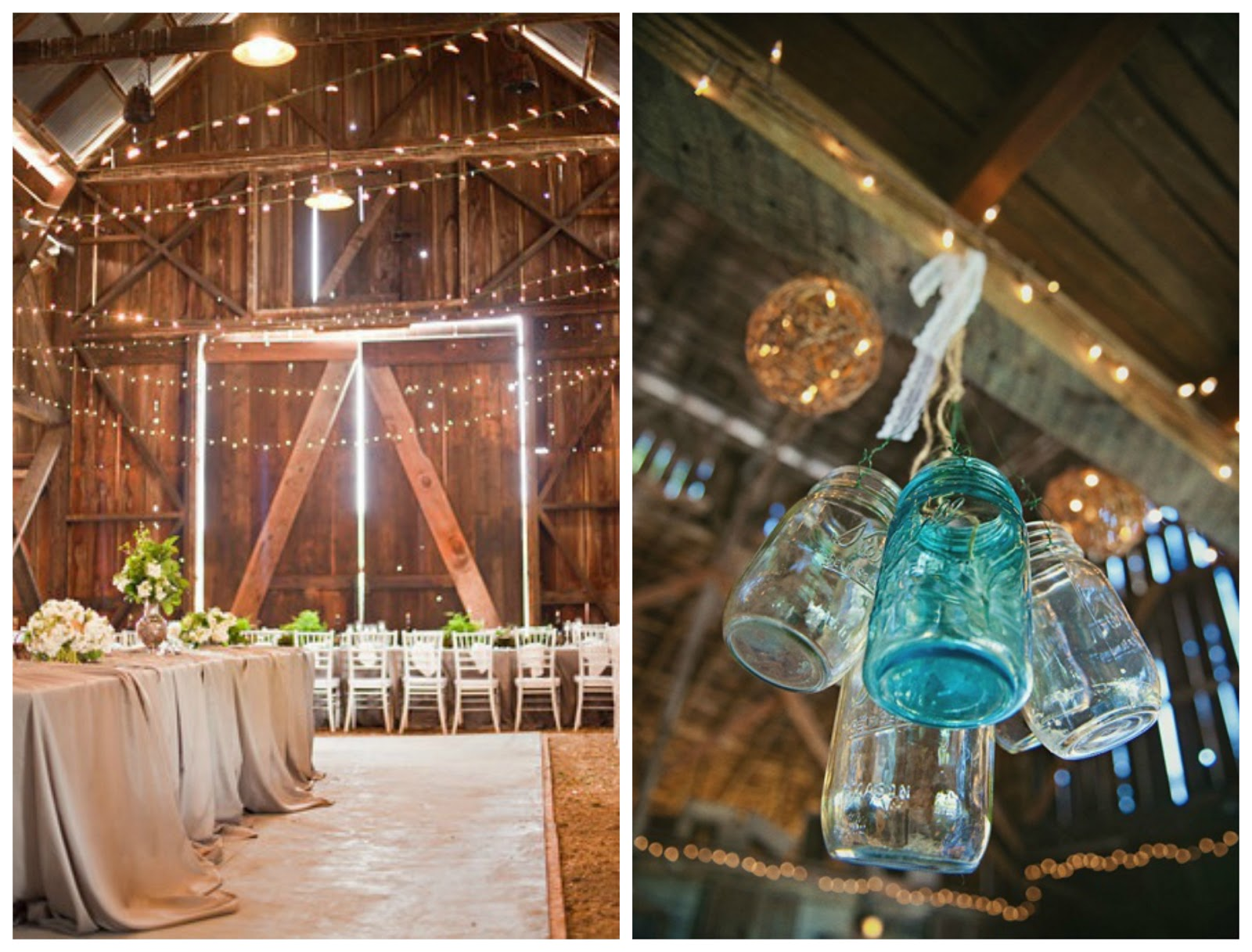 JessicaNdesigns Wedding Inspiration Rustic Barn Party