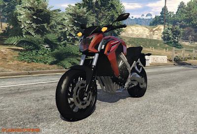 Baixar moto Honda CB650F Para GTA V