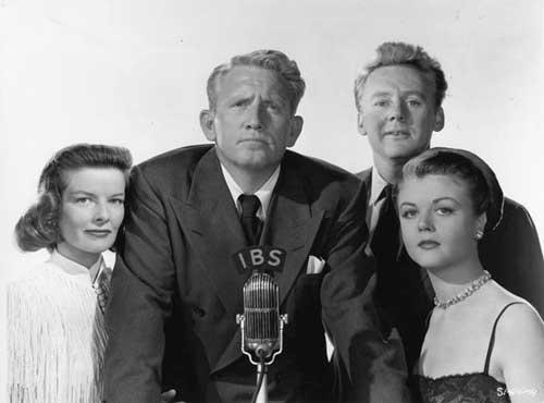 """""""El estado de la Unión"""", con Spencer Tracy y Katharine Hepburn."""