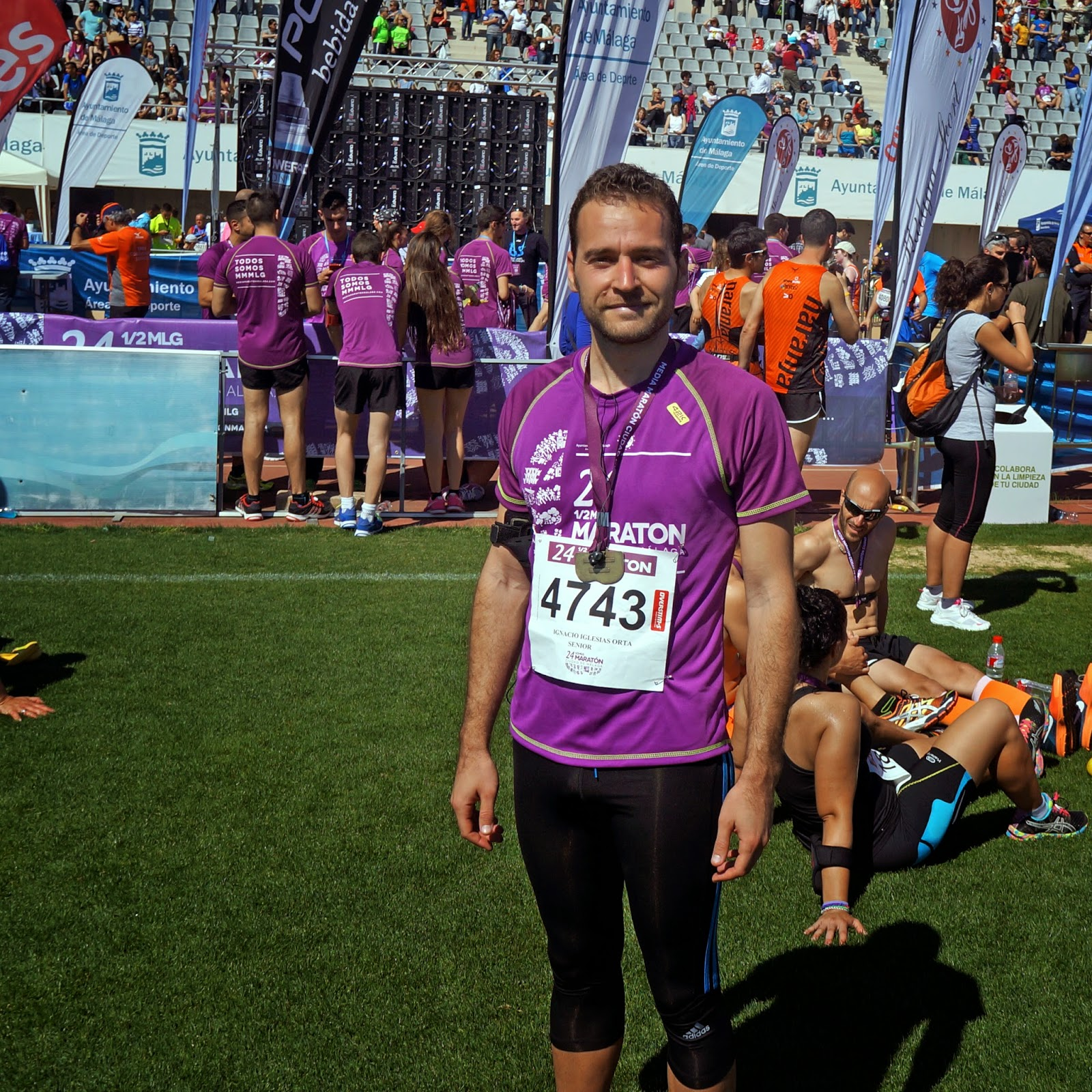 24 Media Maraton Málaga. ¡Por fin hago una media!