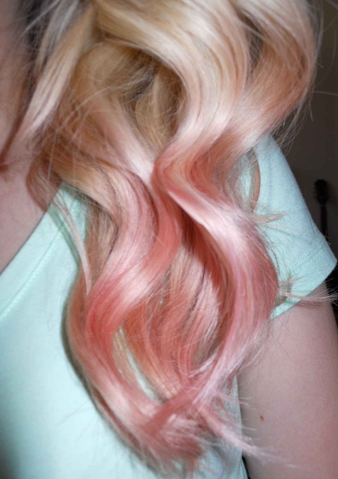 bewitched by blush rose gold hair