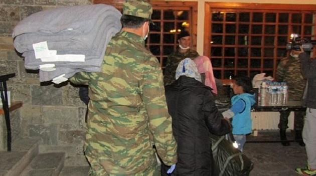 Θετικοί  για φυματίωση οκτώ στρατιωτικοί σε καταυλισμό προσφύγων