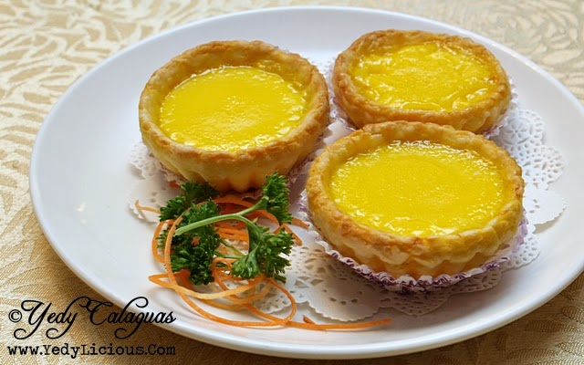 Crystal Jade Baked Mini Egg Tart