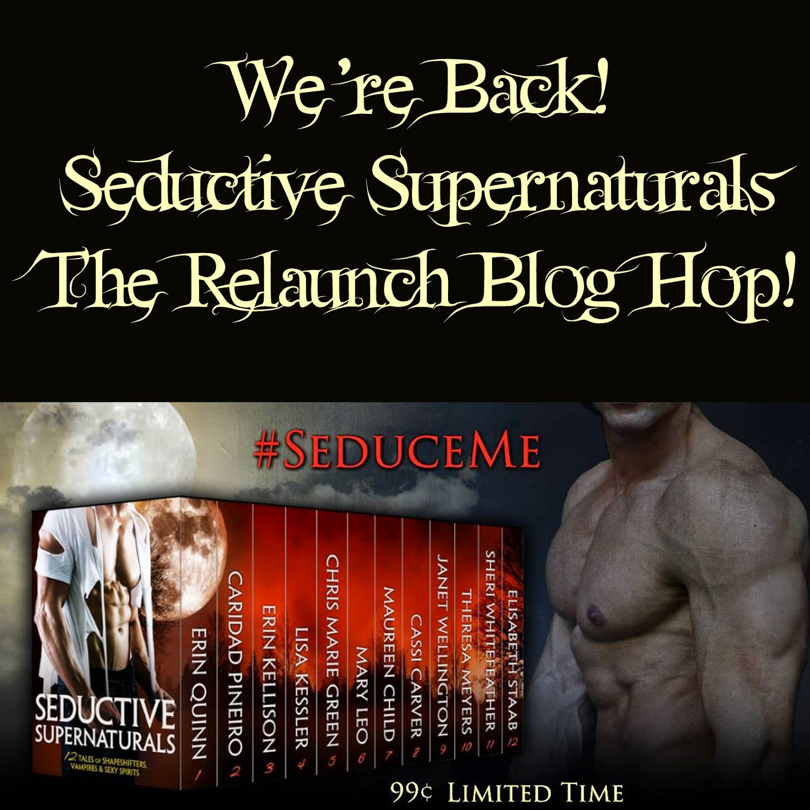 Seductive Supernatural Boxed Set