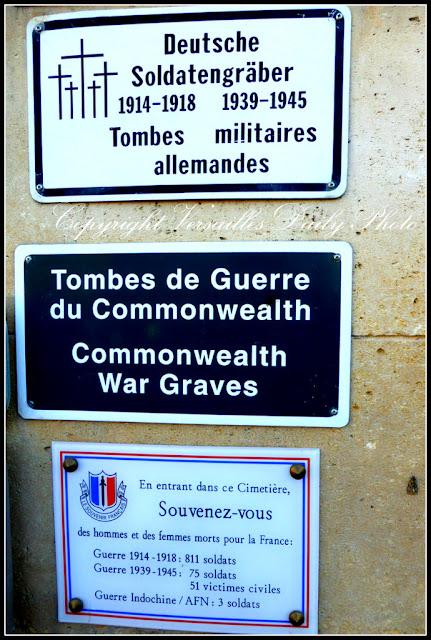 Cimetière militaire des Gonards Versailles