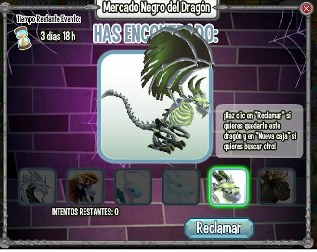 imagen del dragon huesudo el mercado negro del dragon