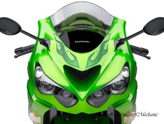 LOSER MECHANIC  2012 Motorcycle Kawasaki Ninja ZX 14R Special Edition