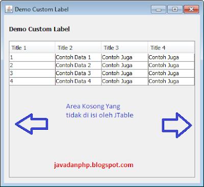 Mempercantik Tampilan Jtable Pada Aplikasi Java