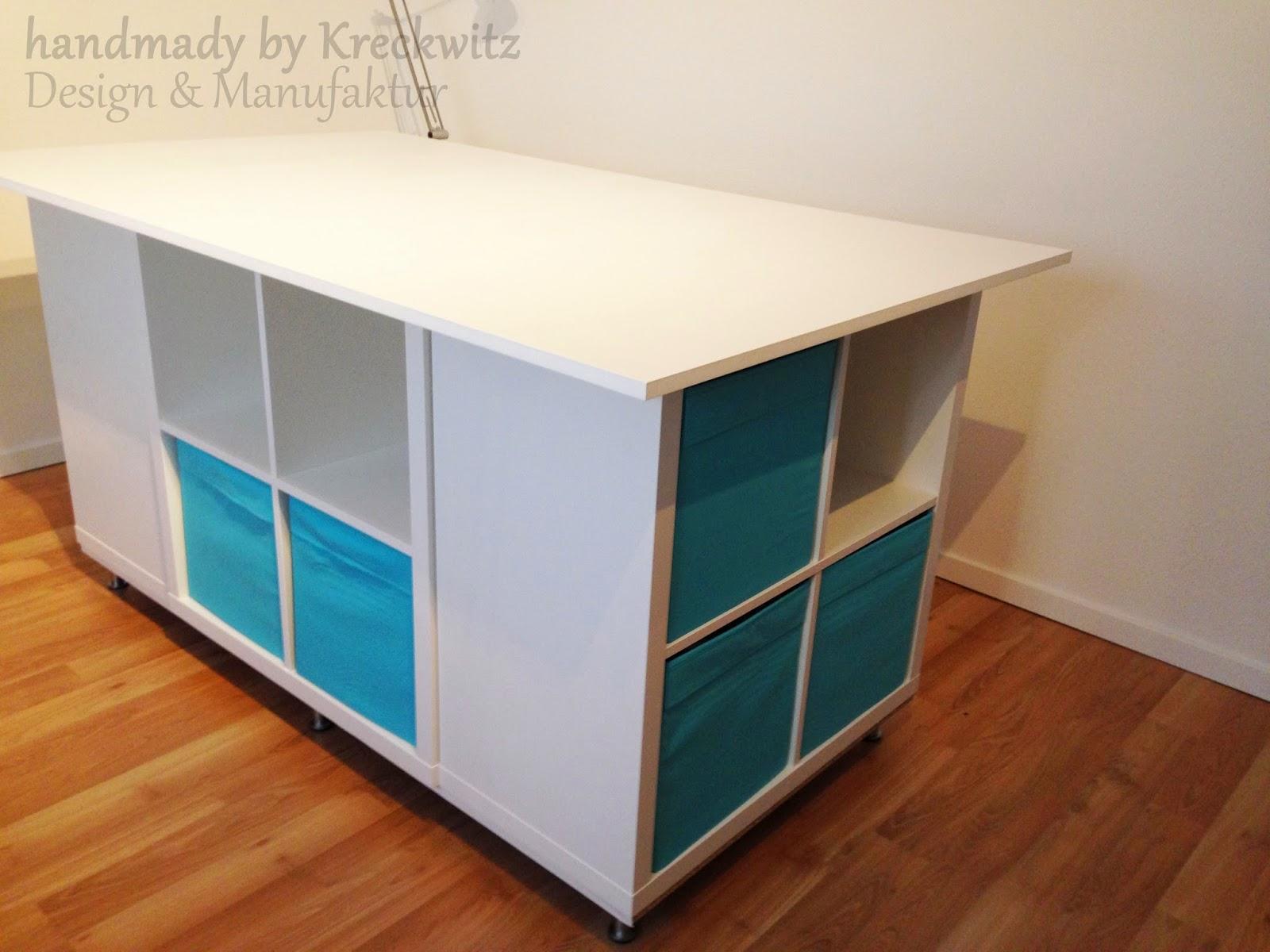 handmade by kreckwitz zuschneidetisch oder pimp my ikea. Black Bedroom Furniture Sets. Home Design Ideas