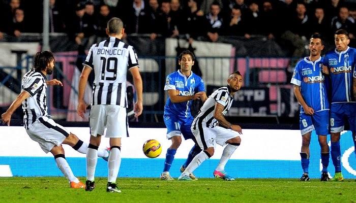 Juventus vs Empoli en vivo