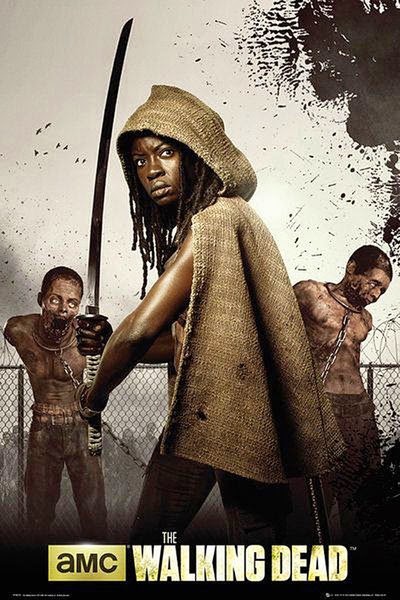 Poster Michonne The Walking Dead