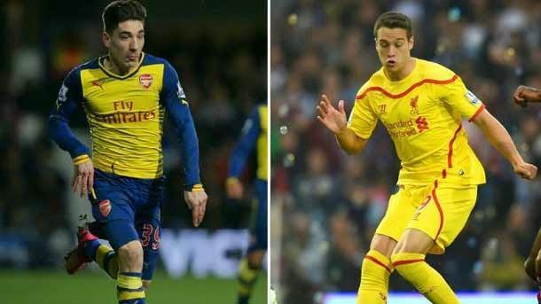 Manquillo y Bellerín, jóvenes laterales en la órbita del FC Barcelona
