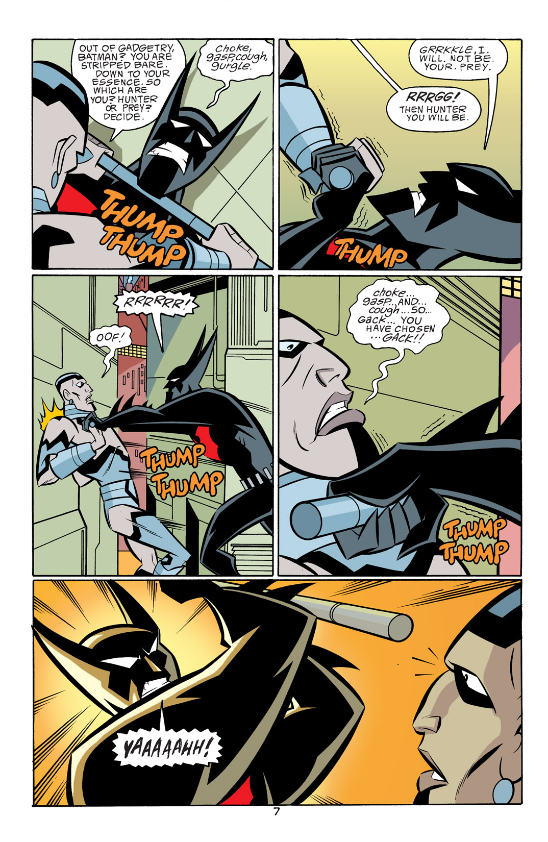 Batman Beyond [II] Issue #18 #18 - English 8