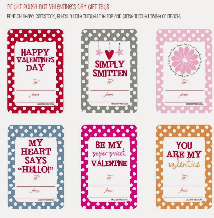 Valentine\'s Day: Free Printable Labels for gifts. | Is it for ...