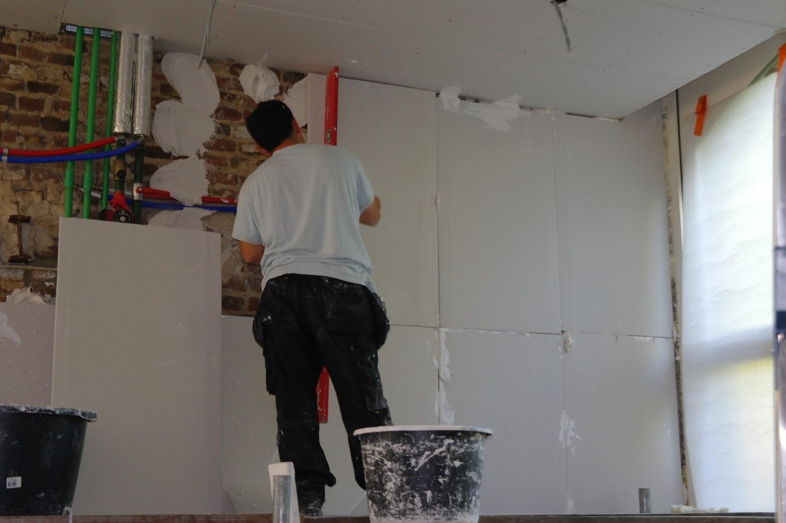 Arima renova plafonnage et cimentage cloisons faux for Plafonnage mur exterieur