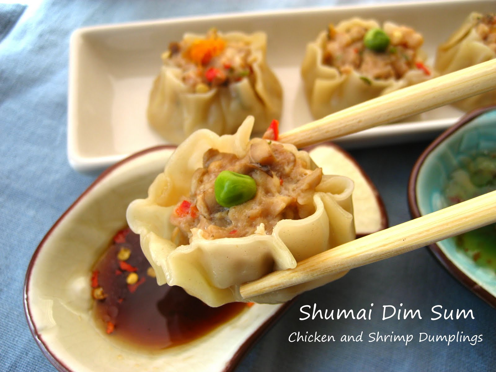... In Montana: Shumai...Chinese Dim Sum (Chicken and Shrimp Dumpling