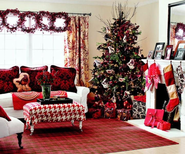 Decoraciones navide as para esta noche navidad 2013 taringa - Decoracion navidena para el hogar ...