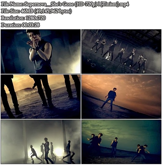 Download MV Supernova / Choshinsung / Choshinsei (초신성) - She's Gone (폭풍속으로) (HD 720p)