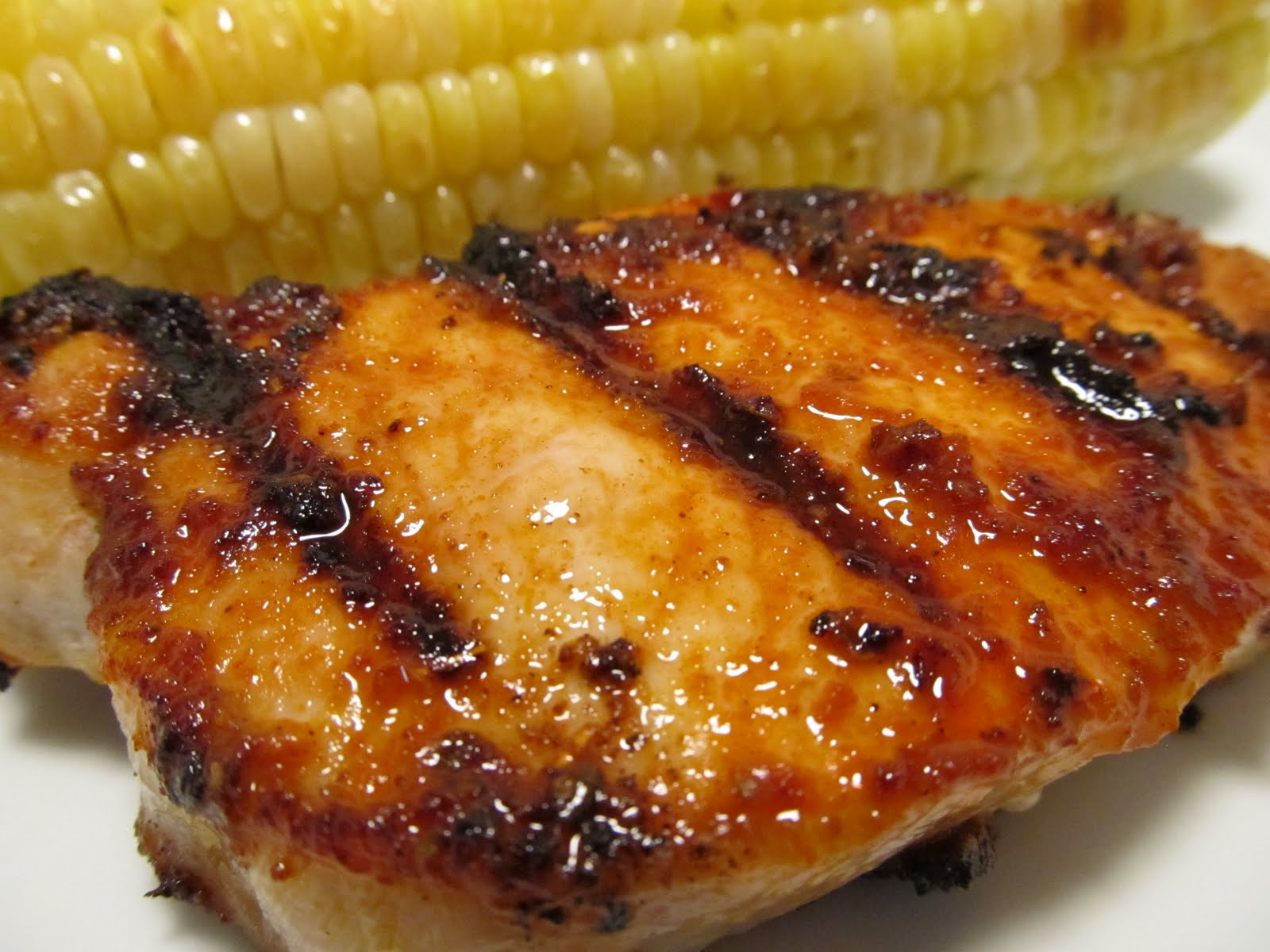 Jenn's Food Journey: Grilled Pork Chops with Adobo Paste
