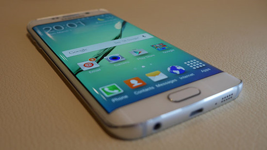 Samsung Galaxy Note Edge First Look! - YouTube