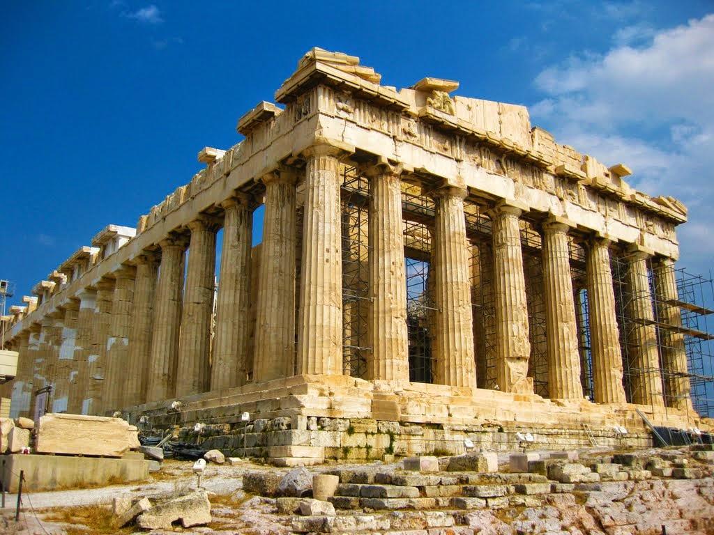 El Partenón de la Acropolis de Atenas
