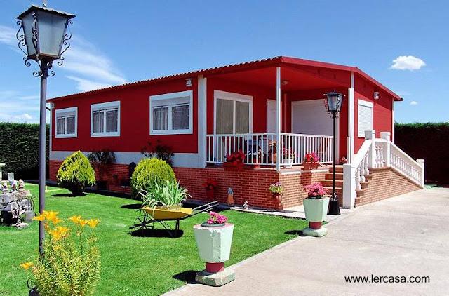 Arquitectura de casas vivienda prefabricada tipo for Modelos de viviendas