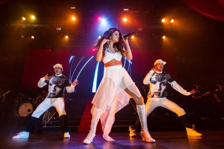 Selena Gomez Performing at Borderfest 2014