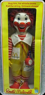 1978 Ronald McDonald Doll