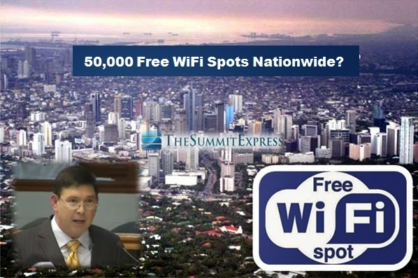 Senate approved P3 billion fund for 50,000 free public WiFi nationwide